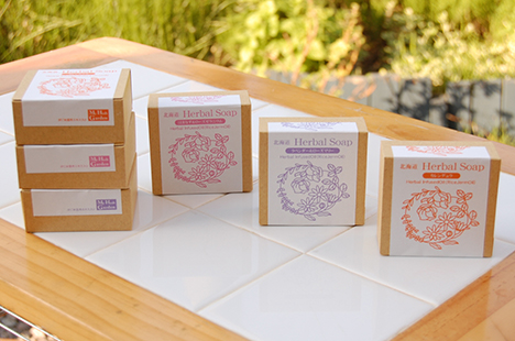 石鹸パッケージデザイン